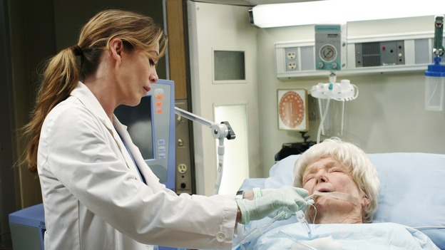 GREY'S ANATOMY - &quot;Break On Through&quot; (ABC/RON TOM)ELLEN POMPEO, DONA HARDY