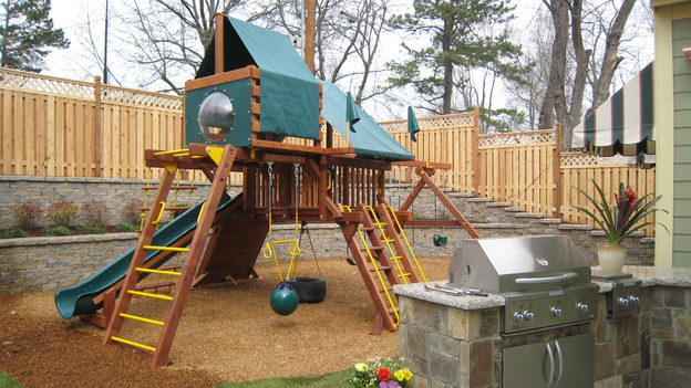 EXTREME MAKEOVER HOME EDITION - &quot;Jacobo Family,&quot; - Playground, on &quot;Extreme Makeover Home Edition,&quot; Sunday, May 13th on the ABC Television Network.