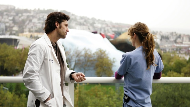 "GREY'S ANATOMY - ""Thanks for the Memories"" (ABC/CRAIG SJODIN)PATRICK DEMPSEY, ELLEN POMPEO"