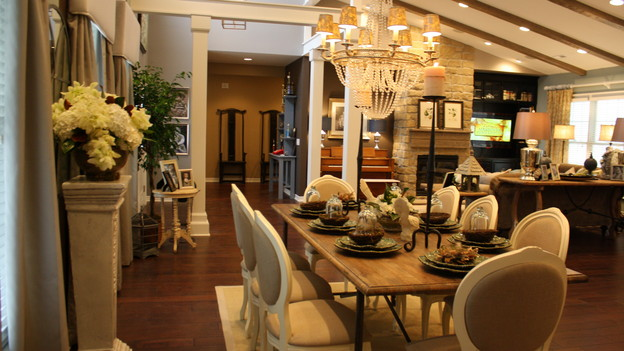 "EXTREME MAKEOVER HOME EDITION - ""Terpenning Family,"" - Dining Room, on ""Extreme Makeover Home Edition,"" Sunday, November 8th, on the ABC Television Network."