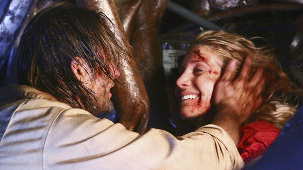 LOST - &quot;LA X&quot; - &quot;Lost&quot; returns for its final season of action-packed mystery and adventure -- that will continue to bring out the very best and the very worst in the people who are lost -- on the season premiere of &quot;Lost,&quot; TUESDAY, FEBRUARY 2 (9:00-11:00 p.m., ET) on the ABC Television Network. On the season premiere episode, &quot;LA X&quot; Parts 1 &amp; 2, the aftermath from Juliet's detonation of the hydrogen bomb is revealed. (ABC/MARIO PEREZ)JOSH HOLLOWAY, ELIZABETH MITCHELL