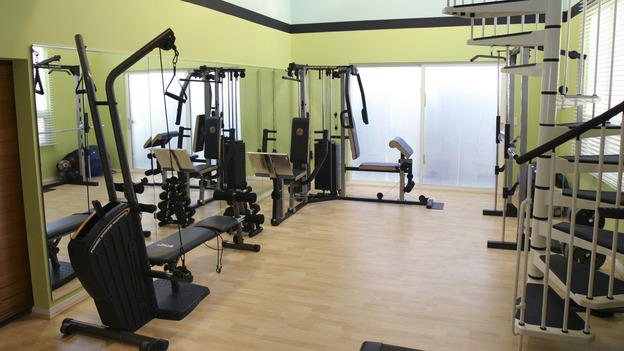 1EXTREME MAKEOVER HOME EDITION - &quot;Wofford Family,&quot; - Workout Room, on &quot;Extreme Makeover Home Edition,&quot; Sunday, September 26th on the ABC Television Network.