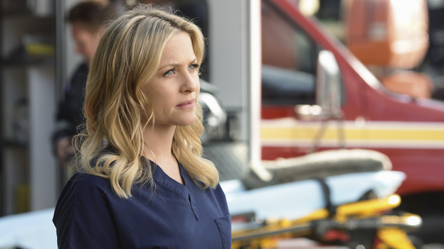 GREY'S ANATOMY - ABC's &quot;Grey's Anatomy&quot; concludes the season with a two-hour shocker, THURSDAY, MAY 20. In the first hour, entitled &quot;Sanctuary&quot; (9:00-10:00 p.m., ET), Seattle Grace Hospital is hit with a crisis like no other in its history. Then, in the second hour, &quot;Death and All His Friends&quot; (10:00-11:00 p.m., ET), Cristina and Meredith's surgical skills are put to the ultimate test. (ABC/SCOTT GARFIELD)JESSICA CAPSHAW