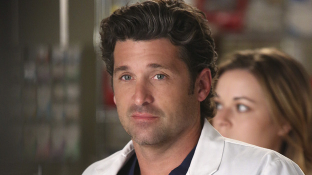 "GREY'S ANATOMY - ""Remember the Time"" - (ABC/DANNY FELD)PATRICK DEMPSEY, TINA MAJORINO (BACKGROUND)"