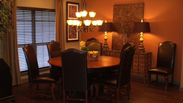 EXTREME MAKEOVER HOME EDITION - &quot;Gaudet Family,&quot; - Dining Room, on &quot;Extreme Makeover Home Edition,&quot; Sunday, March 23rd on the ABC Television Network.