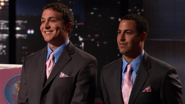 "Shark Tank - ""College Foxes Hauling Boxes"" - on ""Shark Tank,"" Sunday, August 9th on the ABC Television Network."