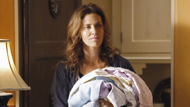 PRIVATE PRACTICE - &quot;The Way We Were&quot; - Violet is physically recovering from her violent attack at home, but the emotional trauma she suffers from isn't going away, despite the best efforts of Pete and her other friends to help. Meanwhile, Addison and Naomi try to mend their tension-filled relationship, as Sam and Cooper treat a father, who has allegedly attacked his family, after he is stabbed by his wife, on &quot;Private Practice,&quot; THURSDAY, OCTOBER 8 (10:01-11:00 p.m., ET) on the ABC Television Network. (ABC/KAREN NEAL)AMY BRENNEMAN