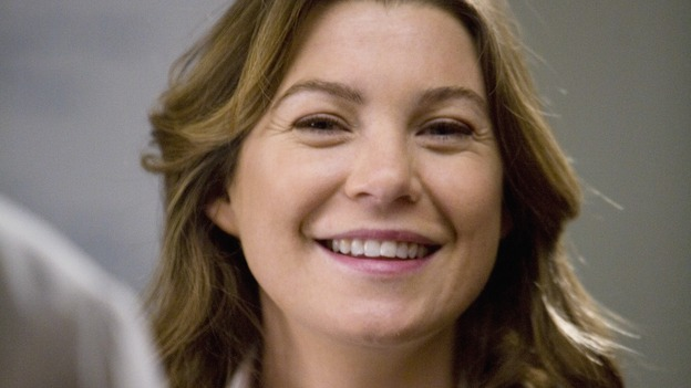 "GREY'S ANATOMY - ""Elevator Love Letter"" - Meredith is looking forward to her next elevator ride, on ""Grey's Anatomy,"" THURSDAY, MARCH 26 (9:00-10:02 p.m., ET) on the ABC Television Network. (ABC/RANDY HOLMES) ELLEN POMPEO"
