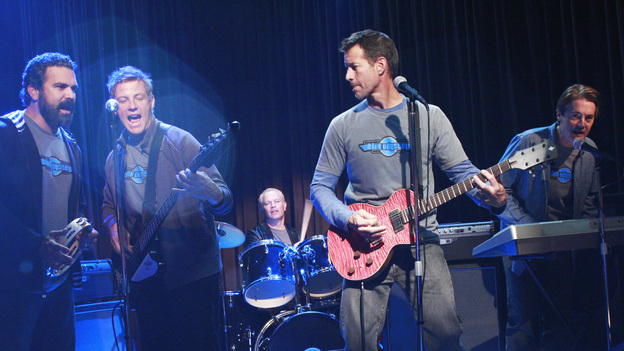 "DESPERATE HOUSEWIVES - ""City on Fire"" - Mike, Tom, Carlos, Dave and Orson playing in the Battle of the Bands."