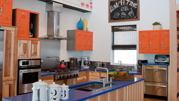 "EXTREME MAKEOVER HOME EDITION - ""Oregon School for the Deaf,"" - Kitchen  Pictures, on ""Extreme Makeover Home Edition,"" Sunday, October 31st(8:00-9:00 p.m. ET/PT) on the ABC Television Network."