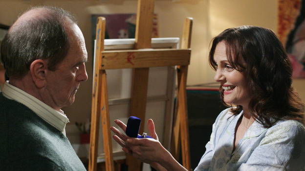 "DESPERATE HOUSEWIVES -""SUNDAY IN THE PARK WITH GEORGE"" - (ABC/RON TOM) BOB NEWHART, LESLEY ANN WARREN"