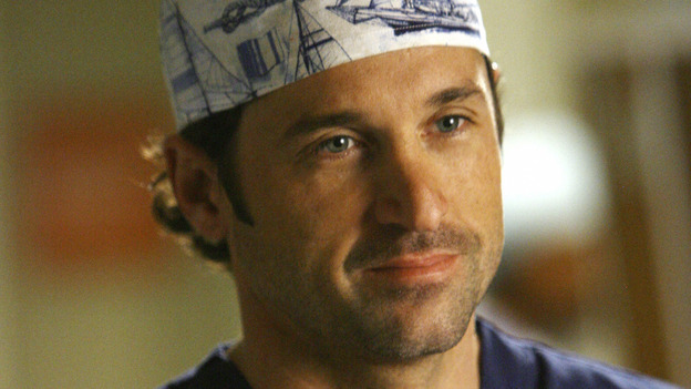 "GREY'S ANATOMY - ""Piece of My Heart"" - Addison returns to Seattle Grace to perform an operation and is taken aback by all of the changes in her old co-workers' lives. Meanwhile Meredith and Derek's clinical trial has its first patient, and Rebecca/Ava returns with shocking news for Alex, on ""Grey's Anatomy,"" THURSDAY, MAY 1 (9:00-10:01 p.m., ET) on the ABC Television Network.  (ABC/SCOTT GARFIELD)PATRICK DEMPSEY"