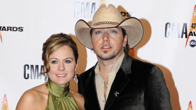 THE 43rd ANNUAL CMA AWARDS - RED CARPET ARRIVALS - &quot;The 43rd Annual CMA Awards&quot; will be broadcast live from the Sommet Center in Nashville, WEDNESDAY, NOVEMBER 11 (8:00-11:00 p.m., ET) on the ABC Television Network. (ABC/DONNA SVENNEVIK)JASON ALDEAN