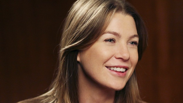 "GREY'S ANATOMY - ""Staring at the Sun"" - The O'Malley Family visits George at the hospital, Meredith is determined to have a more positive outlook on life, Derek and Addison strive for a civil relationship, and Richard endeavors to reunite with his wife, Adele, on ""Grey's Anatomy,"" THURSDAY, NOVEMBER 16 (9:00-10:01 p.m., ET) on the ABC Television Network. (ABC/KAREN NEAL)ELLEN POMPEO"