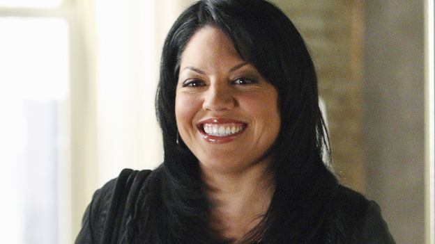 "GREY'S ANATOMY - ""Stairway to Heaven"" - Dr. Callie Torres, on ""Grey's Anatomy,"" THURSDAY, JANUARY 22 (9:00-10:01 p.m., ET) on the ABC Television Network. (ABC/CRAIG SJODIN) SARA RAMIREZ"
