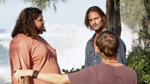 "LOST - ""Expos"" - Hurley begins to suspect that Sawyer may be involved in an island mystery surrounding two fellow survivors, and Sun learns the truth about her past kidnapping attempt by ""The Others,"" on ""Lost,"" WEDNESDAY, MARCH 28 (10:00-11:00 p.m., ET), on the ABC Television Network. (ABC/MARIO PEREZ)JORGE GARCIA, JOSH HOLLOWAY, DOMINIC MONAGHAN"