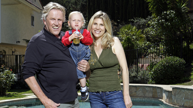 CELEBRITY WIFE SWAP - &quot;Gary Busey / Ted Haggard&quot; - ABC puts a new spin on the critically-acclaimed reality series &quot;Wife Swap&quot; by revealing the various ways that some controversial celebrities live their lives. In the premiere episode, &quot;Gary Busey / Ted Haggard,&quot; Steffanie Sampson, fianc&Atilde;&copy;e of Academy Award-nominated actor Gary Busey, swaps lives with Gayle Haggard, wife of former evangelical icon Ted Haggard, in &quot;Celebrity Wife Swap,&quot; premiering TUESDAY, JANUARY 3, 2012 (9:00-10:00 p.m., ET) on the ABC Television Network.  (ABC/DAVE BENTLEY)GARY BUSEY, LUKE SAMPSON BUSEY, STEFFANIE SAMPSON