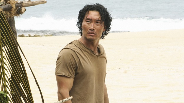 "LOST -  ""This Place is Death"" - Jin finds himself back on the island after being rescued by a young Danielle Rousseau and her team of French scientists, on ""Lost,"" WEDNESDAY, FEBRUARY 11 (9:00-10:02 p.m., ET) on the ABC Television Network.  (ABC/MARIO PEREZ) DANIEL DAE KIM"