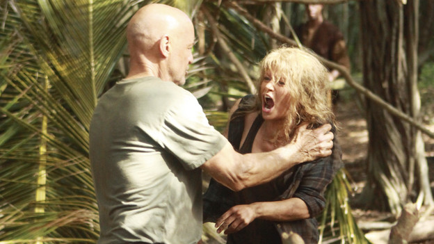 LOST - &quot;Recon&quot; - Locke tasks Sawyer with a mission, on &quot;Lost,&quot; TUESDAY, MARCH 23 (9:00-10:00 p.m., ET) on the ABC Television Network.  (ABC/MARIO PEREZ)TERRY O'QUINN, EMILIE DE RAVIN