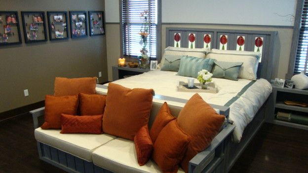EXTREME MAKEOVER HOME EDITION - &quot;Cowan Family,&quot; - Master Bedroom, on &quot;Extreme Makeover Home Edition,&quot; Sunday, January 10th on the ABC Television Network.