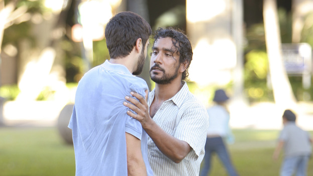 "LOST - ""The Greater Good"" - Sayid and his former college roommate, Essam, who had since become a terrorist, on ""Lost,"" THURSDAY, MAY 4 on the ABC Television Network. (ABC/MARIO PEREZ) DONNIE KESHAWARZ, NAVEEN ANDREWS"