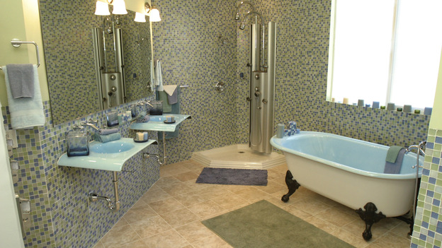 EXTREME MAKEOVER HOME EDITION - &quot;Wofford Family,&quot; - Bathroom, on &quot;Extreme Makeover Home Edition,&quot; Sunday, September 26th on the ABC Television Network.