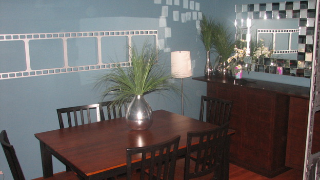 EXTREME MAKEOVER HOME EDITION - &quot;Thibodeau Family,&quot; - Dining Room, on &quot;Extreme Makeover Home Edition,&quot; Sunday, November 5th on the ABC Television Network.