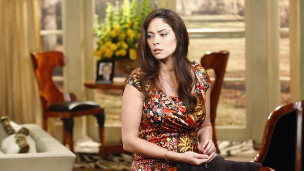 """Jessica Leccia""""One Life to Live"""" Set ABC StudiosNew York 10/12/10©George De Sota/jpistudios.com310-657-9661Episode # 10818air date 11/24/10"""