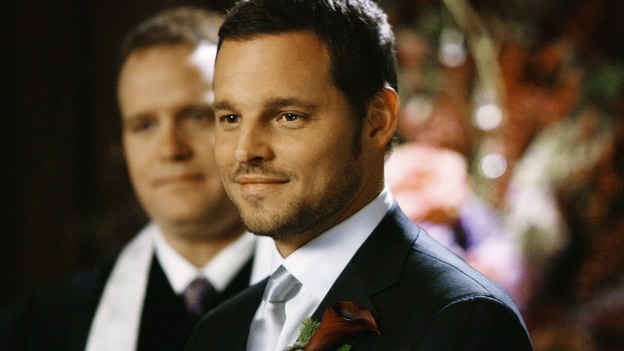 "GREY'S ANATOMY - ""What a Difference a Day Makes"" - Alex prepares to marry Izzie, on ""Grey's Anatomy,"" THURSDAY, MAY 7 (9:00-10:02 p.m., ET) on the ABC Television Network. JUSTIN CHAMBERS"