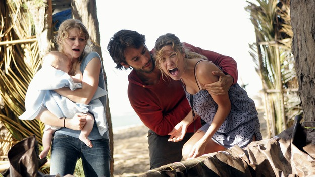 "LOST - ""Expos"" - Hurley begins to suspect that Sawyer may be involved in an island mystery surrounding two fellow survivors, and Sun learns the truth about her past kidnapping attempt by ""The Others,"" on ""Lost,"" WEDNESDAY, MARCH 28 (10:00-11:00 p.m., ET), on the ABC Television Network. (ABC/MARIO PEREZ)EMILIE DE RAVIN, RODRIGO SANTORO, KIELE SANCHEZ"