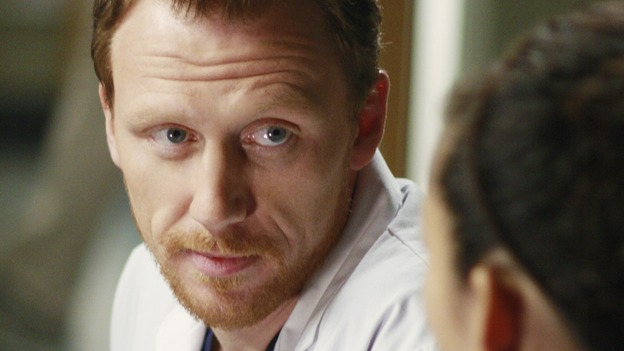 "GREY'S ANATOMY - ""An Honest Mistake"" - Dr. Owen Hunt, on ""Grey's Anatomy,"" THURSDAY, FEBRUARY 19 (9:00-10:02 p.m., ET) on the ABC Television Network. (ABC/RON TOM) KEVIN MCKIDD"