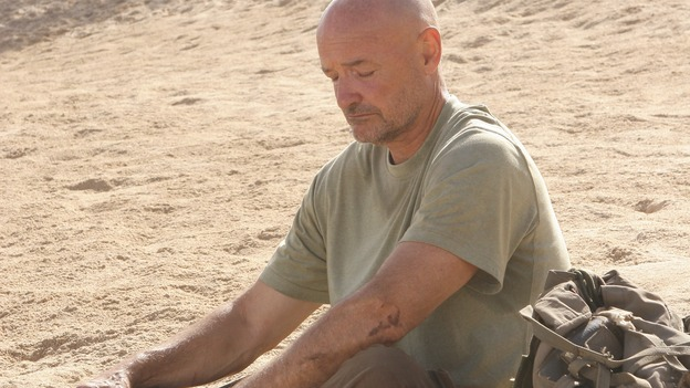 LOST -- &quot;Three Minutes&quot; - A determined Michael convinces Jack and several castaways to help him rescue Walt from &quot;The Others.&quot; Meanwhile, Charlie struggles with Eko's decision to discontinue building the church, on &quot;Lost,&quot; WEDNESDAY, MAY 17 (9:00-10:01 p.m., ET), on the ABC Television Network. (ABC/MARIO PEREZ)TERRY O'QUINN