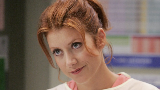 "GREY'S ANATOMY - ""INTO YOU LIKE A TRAIN"" (ABC/CRAIG SJODIN)KATE WALSH"