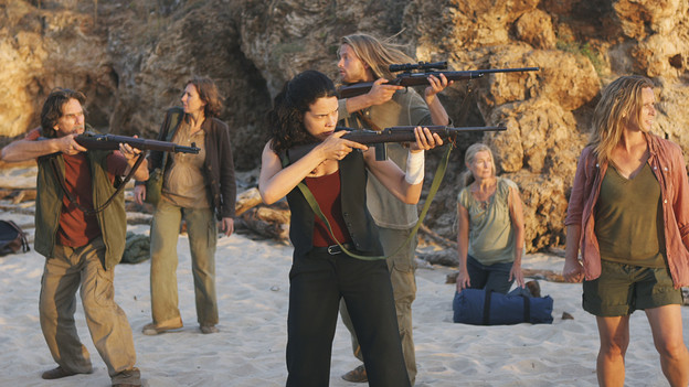 "LOST - ""LA X"" - ""Lost"" returns for its final season of action-packed mystery and adventure -- that will continue to bring out the very best and the very worst in the people who are lost -- on the season premiere of ""Lost,"" TUESDAY, FEBRUARY 2 (9:00-11:00 p.m., ET) on the ABC Television Network. On the season premiere episode, ""LA X"" Parts 1 & 2, the aftermath from Juliet's detonation of the hydrogen bomb is revealed. (ABC/MARIO PEREZ)ZULEIKHA ROBINSON"