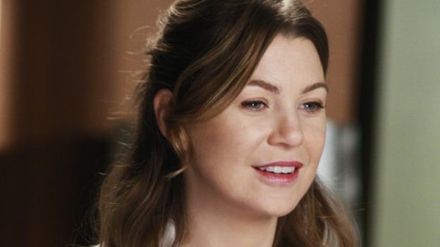 "GREY'S ANATOMY - ""I Will Follow You into the Dark"" - Dr. Meredith Grey on ""Grey's Anatomy,"" THURSDAY, MARCH 12 (9:00-10:02 p.m., ET) on the ABC Television Network. (ABC/RON TOM) ELLEN POMPEO"
