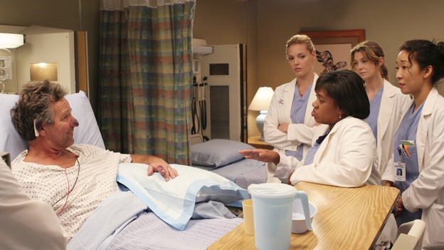 "GREY'S ANATOMY - ""Owner of a Lonely Heart"" (ABC/RICHARD CARTWRIGHT)TIMOTHY BOTTOMS, KATHERINE HEIGL, CHANDRA WILSON, ELLEN POMPEO, SANDRA OH"