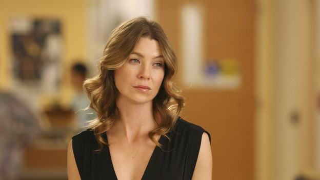 "GREY'S ANATOMY - In the first hour of part two of the season finale of ABC's ""Grey's Anatomy"" -- ""Deterioration of the Fight or Flight Response"" -- Izzie and George attend to Denny as the pressure increases to find him a new heart, Cristina suddenly finds herself in charge of an ER, and Derek grapples with the realization that the life of a friend is in his hands. In the second hour, ""Losing My Religion,"" Richard goes into interrogation mode about a patient's condition, Callie confronts George about his feelings for her, and Meredith and Derek meet about Doc. Part two of the season finale of ""Grey's Anatomy"" airs MONDAY, MAY 15 (9:00-11:00 p.m., ET) on the ABC Television Network. (ABC/SCOTT GARFIELD)ELLEN POMPEO"