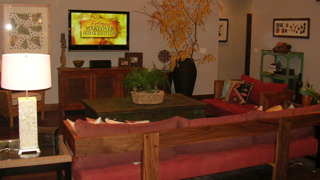 "EXTREME MAKEOVER HOME EDITION - ""Pauni Family,"" - Living Rooms, on ""Extreme Makeover Home Edition,"" Sunday, November 26th on the ABC Television Network."