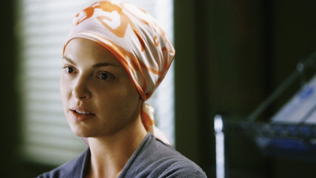"GREY'S ANATOMY - ""Here's to Future Days"" - Dr. Izzie Stevens finds out only a risky surgery could save her life, on ""Grey's Anatomy,"" THURSDAY, MAY 14 (9:00-11:00 p.m., ET) on the ABC Television Network. KATHERINE HEIGL"