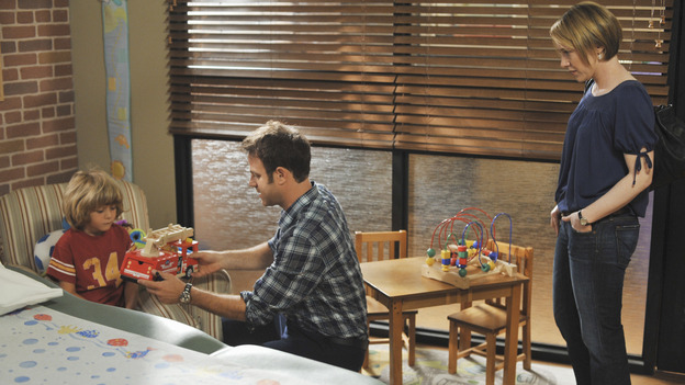 "PRIVATE PRACTICE - ""Past Tense"" - An office election pits Sam and Naomi against each other to lead the practice, and ends with surprising results, while Addison treats a young Afghan girl who wants to hide her past, and Cooper's objectionable personal life catches up with his professional one, on ""Private Practice,"" WEDNESDAY, OCTOBER 29 (9:00-10:01 p.m., ET) on the ABC Television Network. (ABC/ERIC McCANDLESS)TY SIMPKINS, PAUL ADELSTEIN, REBECCA LOWMAN"