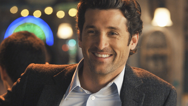 GREY'S ANATOMY - &quot;There's No 'I' in Team&quot; - Derek has a drink at Joe's after work, on &quot;Grey's Anatomy,&quot; THURSDAY, OCTOBER 23 (9:00-10:01 p.m., ET) on the ABC Television Network. (ABC/ERIC MCCANDLESS) PATRICK DEMPSEY