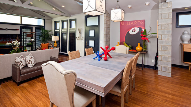 "EXTREME MAKEOVER HOME EDITION - ""Graham Family,"" - Dining Room Picture,  on ""Extreme Makeover Home Edition,"" Sunday, January 23rd (8:00-9:00  p.m. ET/PT) on the ABC Television Network."