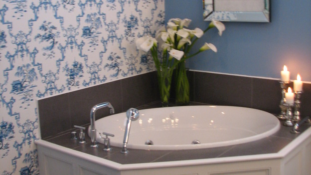 "EXTREME MAKEOVER HOME EDITION - ""Guinta,"" -  Bathroom, on ""Extreme Makeover Home Edition,"" Sunday, May 11th on the ABC Television Network."