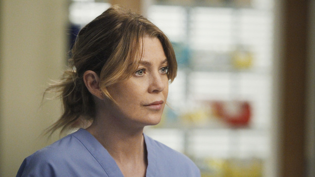 "GREY'S ANATOMY - ""Take the Lead"" - The Chief makes a career-changing decision that shocks Seattle Grace Hospital; Cristina and Owen try to find normalcy in their relationship; April continues to struggle in her new role; and the 5th year residents are given their first solo surgeries, only to find out that even the most routine procedures aren't always easy, on Grey's Anatomy, THURSDAY, SEPTEMBER 29 (9:00-10:02 p.m., ET) on the ABC Television Network. (ABC/JORDIN ALTHAUS)ELLEN POMPEO"