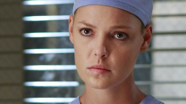 "GREY'S ANATOMY - ""Dream a Little Dream of Me"" - On the two-hour season premiere of ""Grey's Anatomy,"" Meredith and Derek learn that ""happily ever after"" isn't easy, a military doctor who brings in a trauma patient catches Cristina's eye, and the Chief and his staff reel at the news that Seattle Grace is no longer nationally ranked as a top-tier teaching hospital, on ""Grey's Anatomy,"" THURSDAY, SEPTEMBER 25 (9:00-11:00 p.m., ET) on the ABC Television Network. (ABC/RON TOM)KATHERINE HEIGL"
