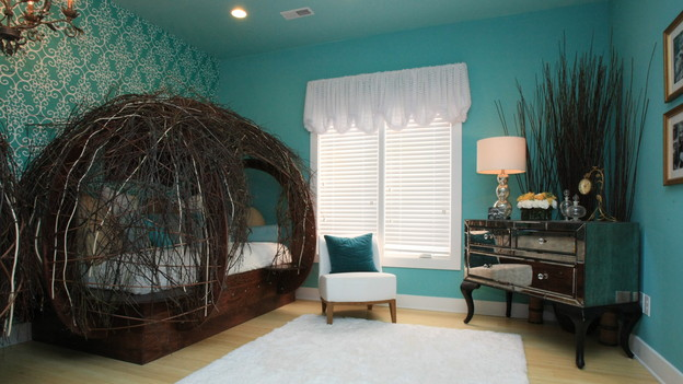 EXTREME MAKEOVER HOME EDITION - &quot;Lampe Family,&quot; - Bird Nest Room Picture,   on &quot;Extreme Makeover Home Edition,&quot; Sunday, January 9th (8:00-9:00 p.m.   ET/PT) on the ABC Television Network.