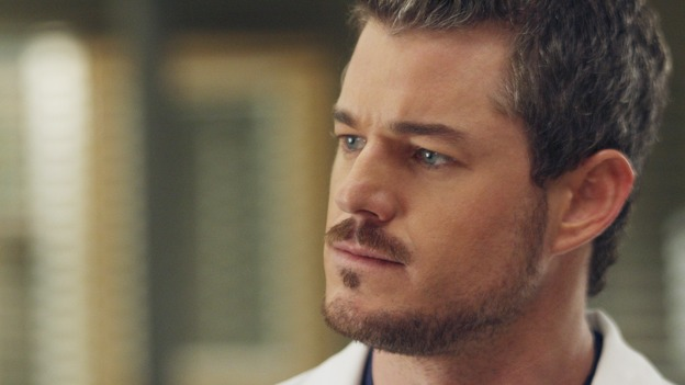 "GREY'S ANATOMY - ""Six Days"" - After a successful operation on his heart, George's father undergoes surgery for his cancer, Thatcher Grey visits Seattle Grace in order to see his new granddaughter, and Meredith discovers that Derek has trouble sleeping soundly, on a two-part episode of ""Grey's Anatomy,"" THURSDAYS, JANUARY 11 & 18 (9:00-10:01 p.m., ET both nights) on the ABC Television Network. (ABC/MICHAEL DESMOND)ERIC DANE"