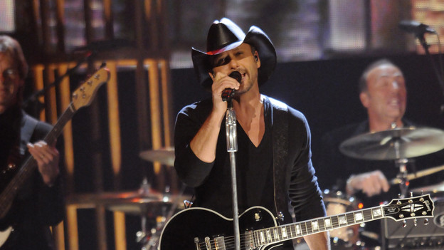 "THE 43rd ANNUAL CMA AWARDS - THEATRE - ""The 43rd Annual CMA Awards"" broadcast live from the Sommet Center in Nashville, WEDNESDAY, NOVEMBER 11 (8:00-11:00 p.m., ET) on the ABC Television Network. (ABC/KATHERINE BOMBOY)TIM MCGRAW"