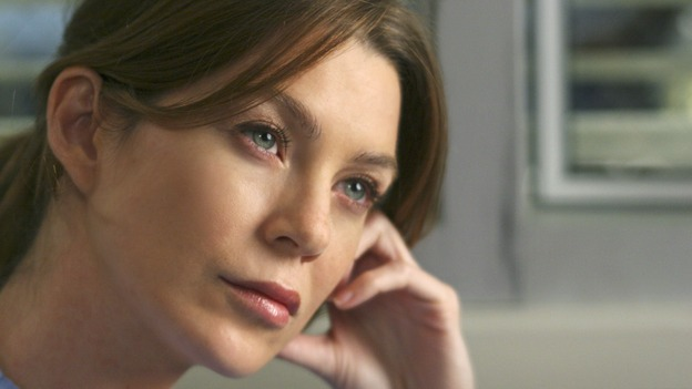 "GREY'S ANATOMY - ""INTO YOU LIKE A TRAIN"" (ABC/MICHAEL DESMOND)ELLEN POMPEO"