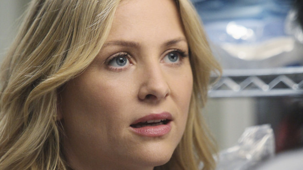 "GREY'S ANATOMY - ABC's ""Grey's Anatomy"" concludes the season with a two-hour shocker, THURSDAY, MAY 20. In the first hour, entitled ""Sanctuary"" (9:00-10:00 p.m., ET), Seattle Grace Hospital is hit with a crisis like no other in its history. Then, in the second hour, ""Death and All His Friends"" (10:00-11:00 p.m., ET), Cristina and Meredith's surgical skills are put to the ultimate test. (ABC/DANNY FELD)JESSICA CAPSHAW"